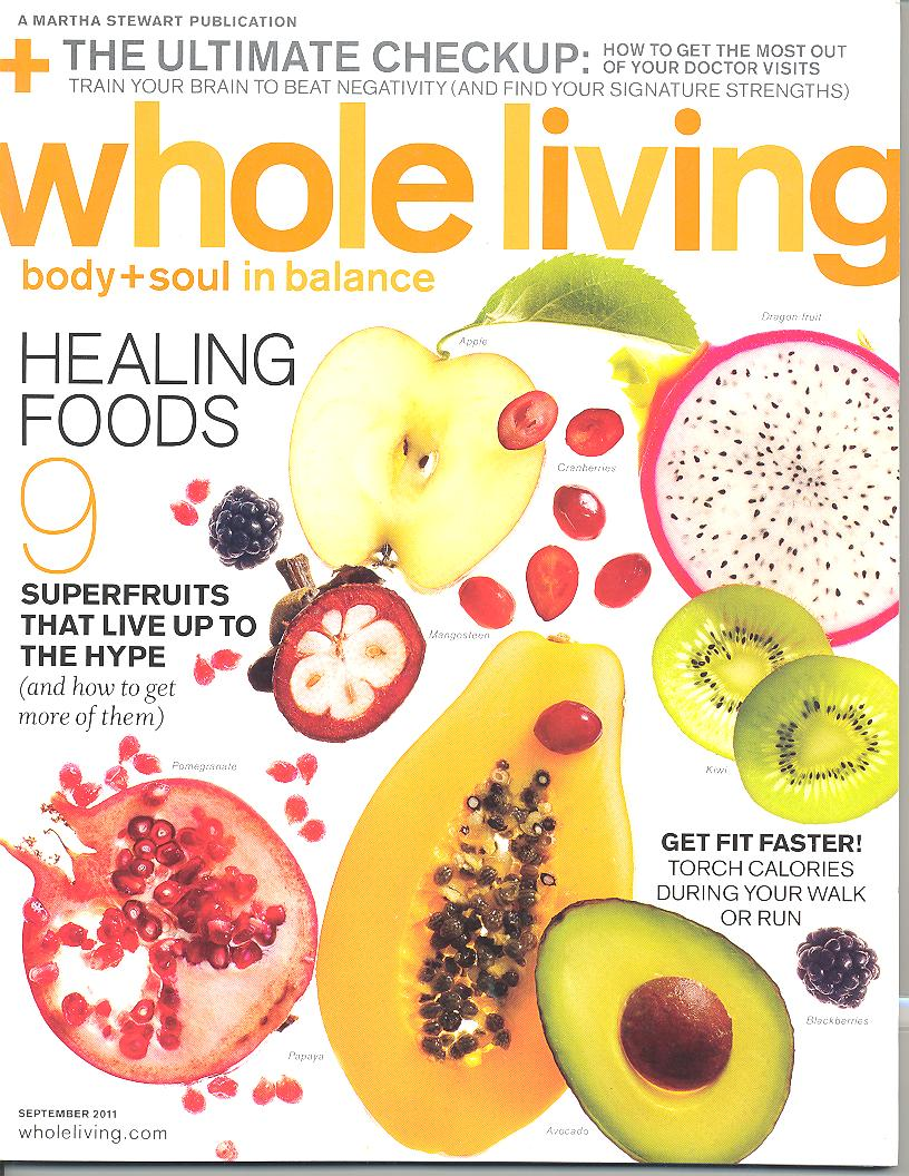 Whole Living Cover